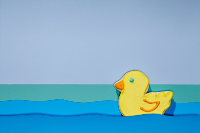 Still from Cyndi Long's sugar cookie duckie animation
