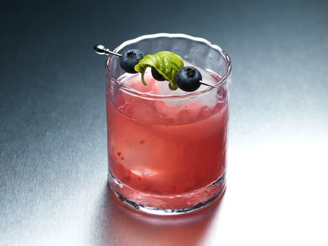 blueberry basil margarita ©Cyndi Long (clstudios.com)